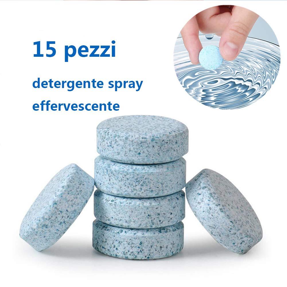 Pulitore a spruzzo effervescente multifunzionale Strumento di pulizia per auto concentrato per la pulizia domestica (15 pezzi) Gorgebuy