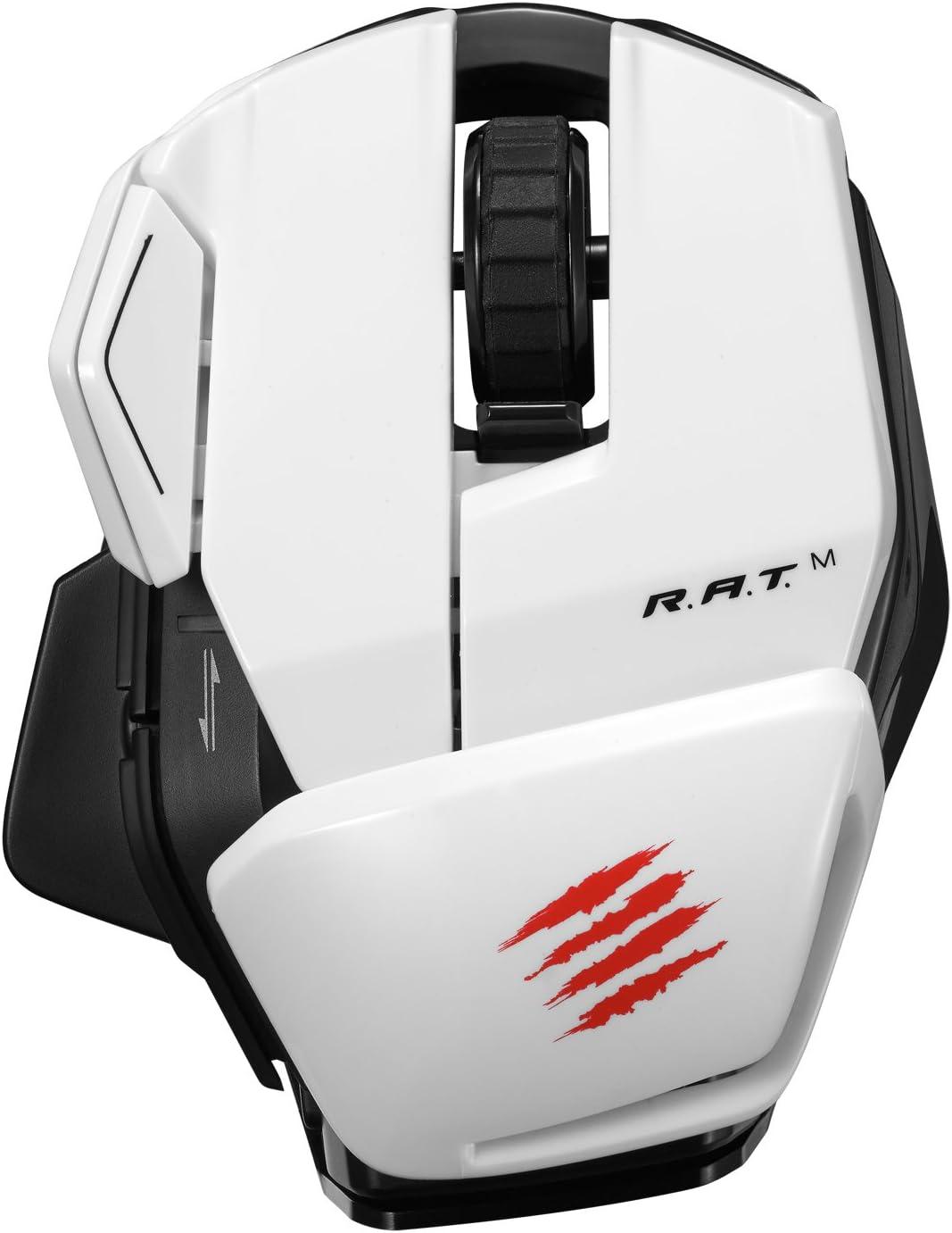 Mad Catz Office RATM - Blanco