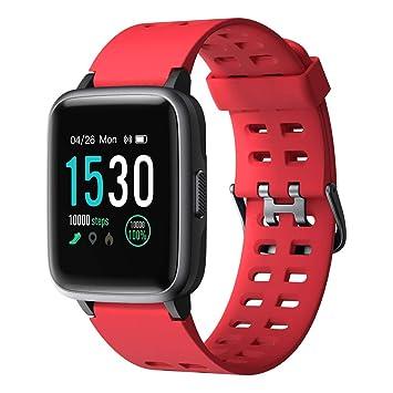YAMAY Smartwatch, Impermeable Reloj Inteligente con Cronómetro ...