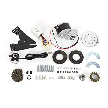 SHIOUCY 250W 24V Electric Ebike Conversion Kit Electric