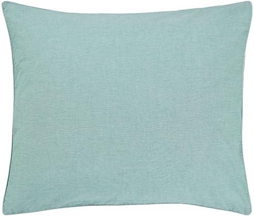 Marc O Polo satén ropa de cama Washed Chambray, azul turquesa, 80 ...