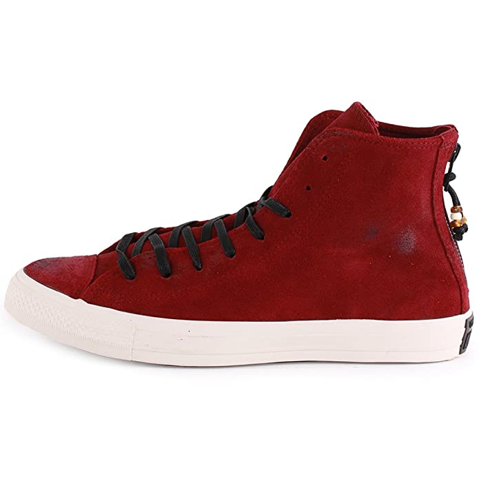 34770c79b99b Converse Chuck Taylor Back Zip Hi (Unisex) Unisex Sneakers Shoes 144690C  Size 12 D(M) US Men D (Standard Width) Oxheart  Amazon.ca  Shoes   Handbags