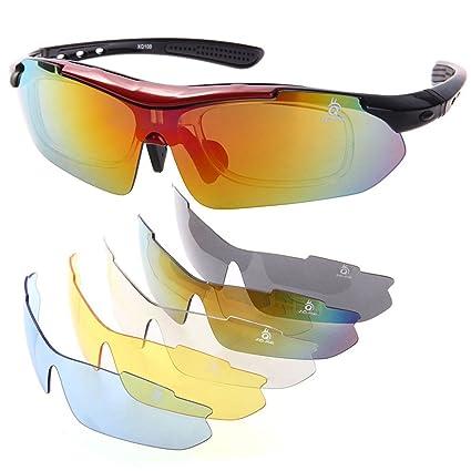XQ-Gafas de Sol Polarizadas UV400 para Ciclismo Esqui Moto Deporte