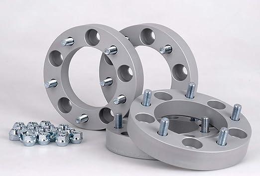 30 mm per disco//60 mm per asse Distanziali in alluminio 2 pezzi con sigillo T/ÜV