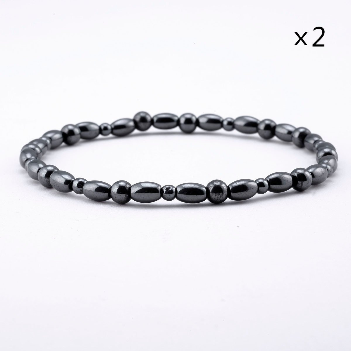 stars two tsm magnetic strength ladies triple anklet size sea