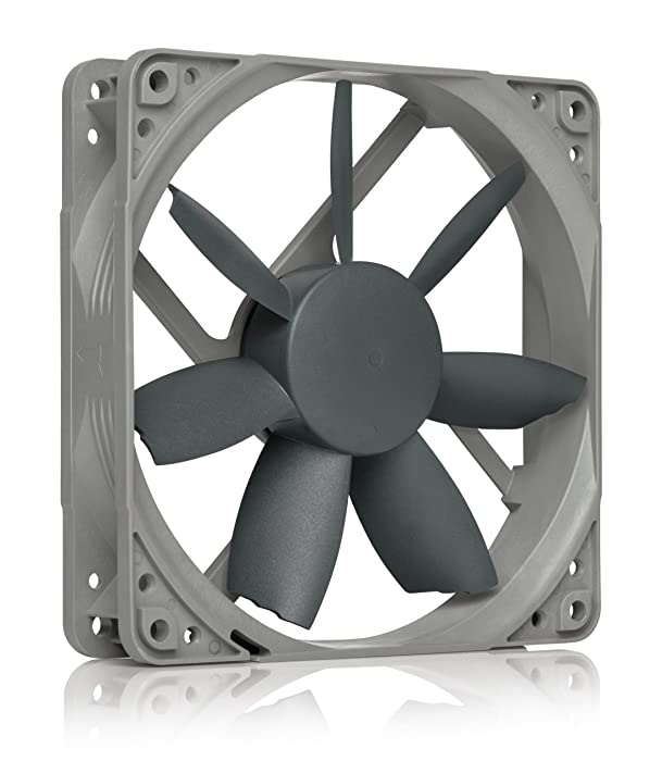 Noctua NF-S12B redux-1200 PWM, High Performance Cooling Fan, 4-Pin, 1200 RPM (120mm, Grey)