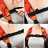 2 Pieces Backpack Chest Strap Adjustable Backpack