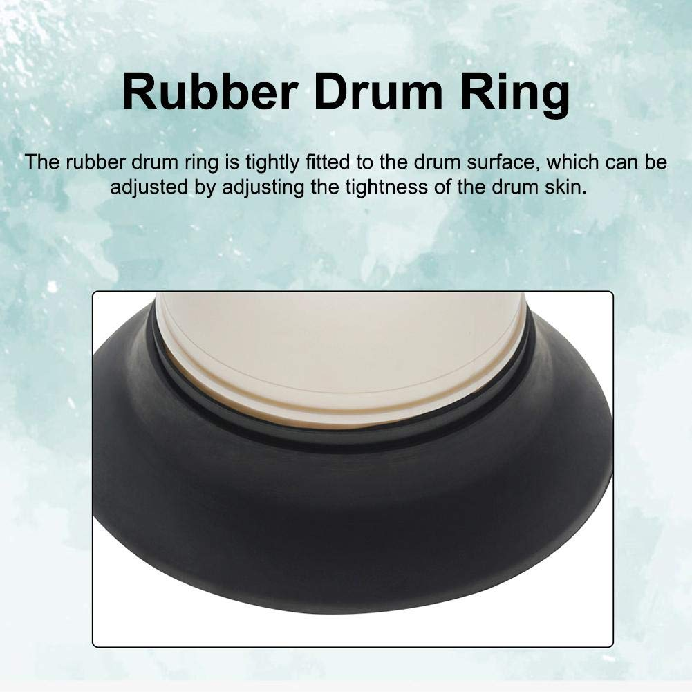 Bass Woofer Drum Kit Drum Bottom Drum Woofer never-hu Bass Drum Enhancer Protecci/ón de Agujero de subwoofer