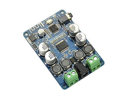 AIYIMA TDA7492P - Amplificador de Audio con Bluetooth (25WX25W, Altavoces modificados, Mini amplificadores