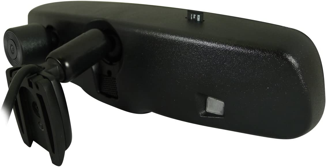 Vission AM-43RVMDVR12 Black 4.3 Factory Replacement Rearview Mirror Monitor