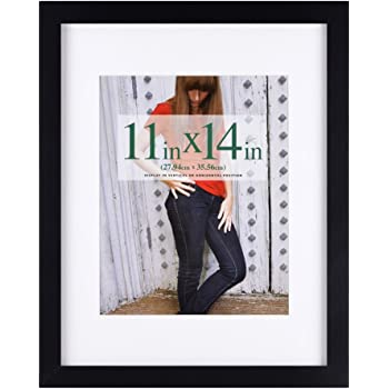 Amazon 11x14 Black Picture Frame Made To Display Pictures
