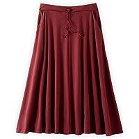 Fair Indigo Fair Trade Organic Midi Skirt
