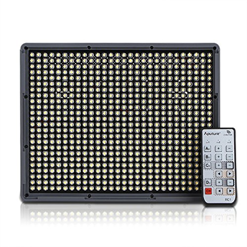 Aputure Amaran HR672S High CRI95+ Led Video Camera Light Panel 5500K For Camera Wireless Remote by Aputure