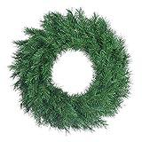 30'' Unlit Aspen Spruce Wreaths