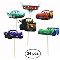WIKI Fiesta Cars Cupcake Topper Decoracion Tarta Cumpleaños