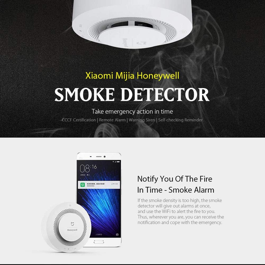 Amazon.com: Youtainkai Xiaomi Mijia Honeywell Smoke Alarm ...