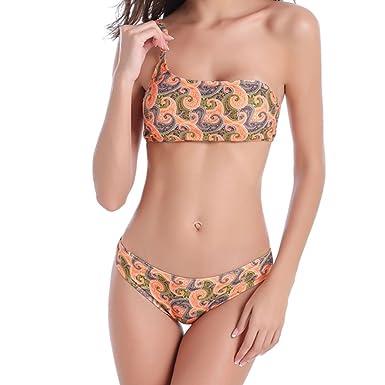 Forfait De Compte À Rebours De Vente Pas Cher Des Prix Meijunter Pétale Femmes Bikini Set Plage Maillot de bain Push Up Padded Bra Rembourré Sous-vêtements Zvs6pqb
