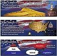 Carson Dellosa Mark Twain The Constitution of the United States Bulletin Board Set (410043)