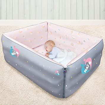 Amazon.: Nai B Baby Versatile Portable Bed, Inflatable Blow Up