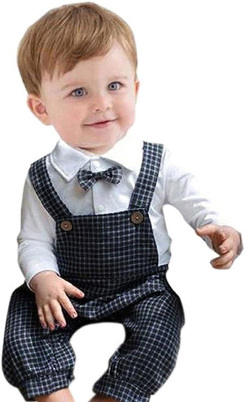 ropa bebé, Switchali 2 Piezas Conjuntos Bebé Chicos Clásico ...