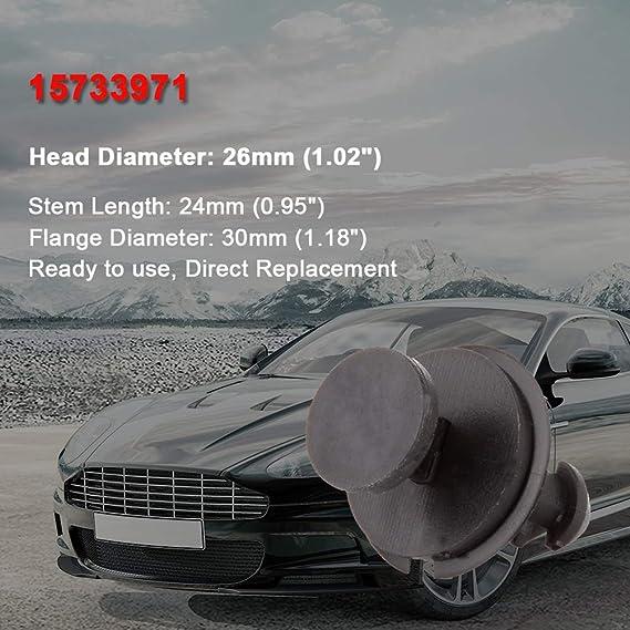 30x Door Trim Fender Retainers Clips Bumper Fasteners for GM 67771-12050