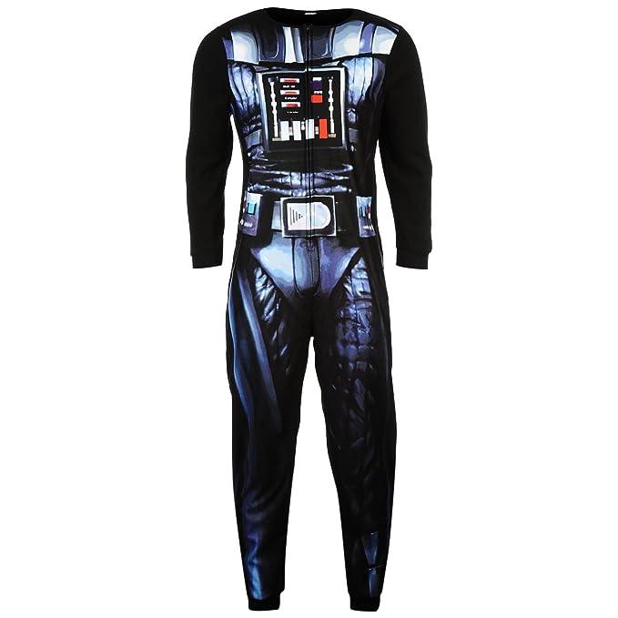 Disney Star Wars - Pijama de una pieza - para hombre negro M