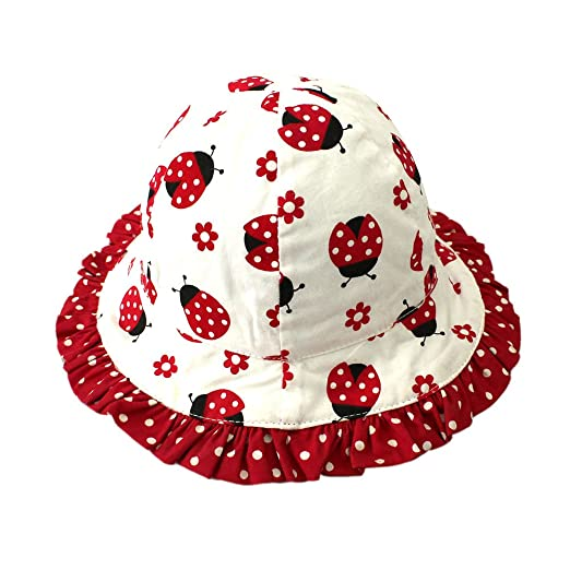 49deecd3c5bad Baby Kids Girls Boys Toddler Fisherman Bucket Hat Pattern Wide Brim Outdoor  Cap Sun Hat
