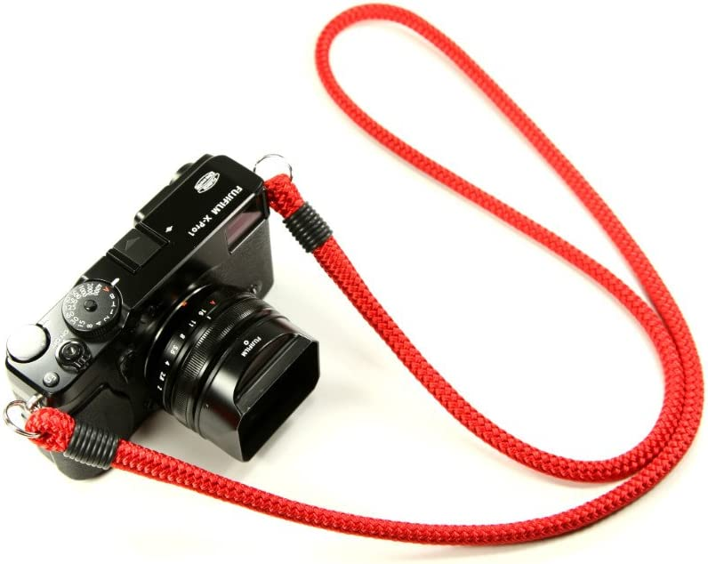 Red 36in Lance Camera Straps Non-adjust Neck Strap Cord Camera Neck Strap