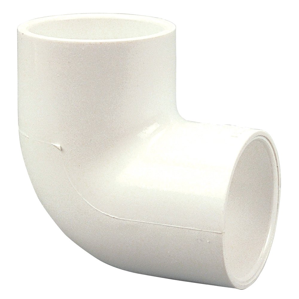1-1//2 Slip Schedule 40 NIBCO 406 Series PVC Pipe Fitting 90 Degree Elbow
