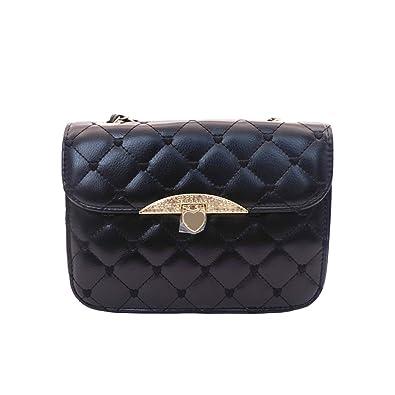 2018 Ladies Tote Sling Bag Elegant Check Pattern Handbag Chain Strap Shoulder  Bag Fashion Chain Bag acd050df87bd3