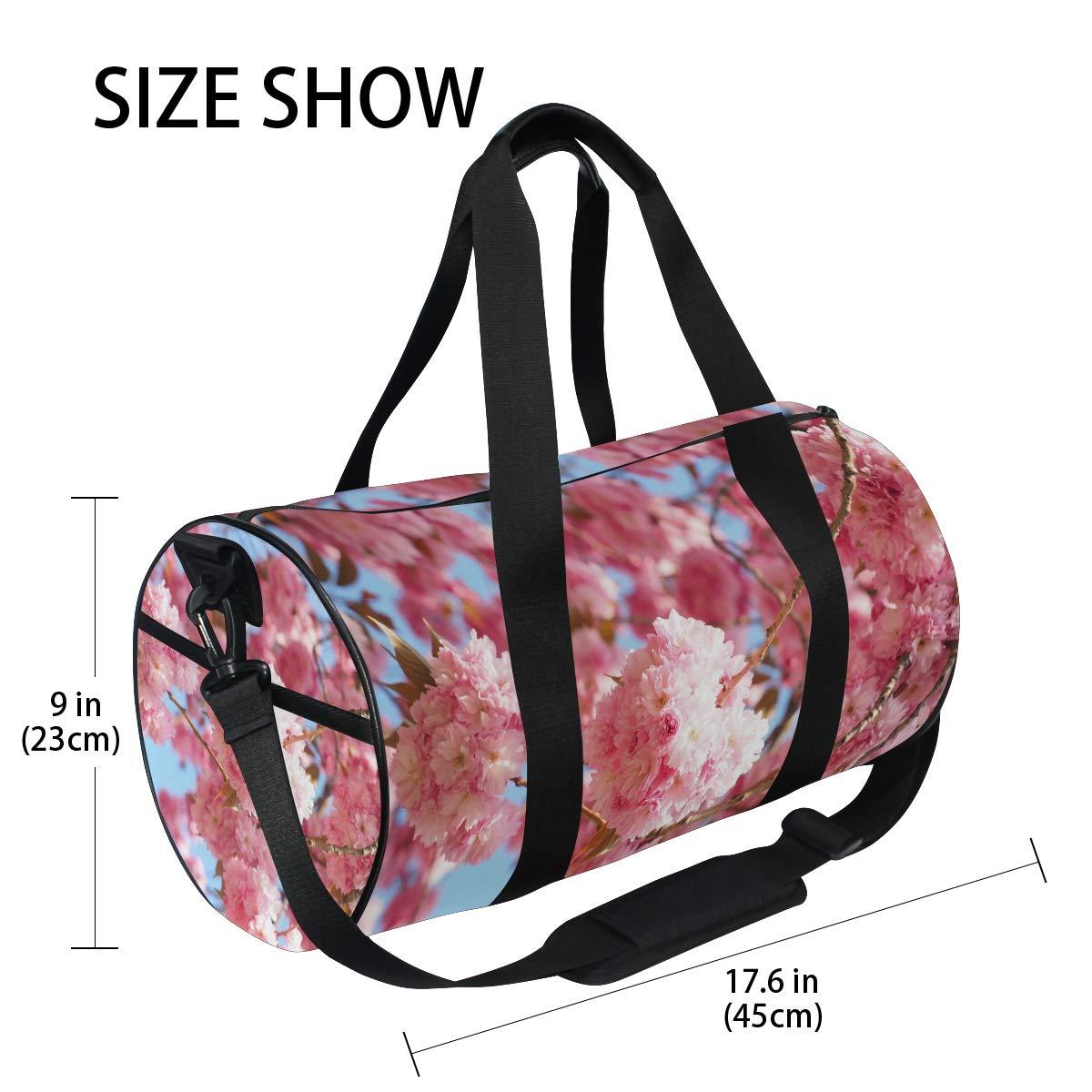 Amazon.com: Cherry Blossom - Bolsa de viaje de lona para ...