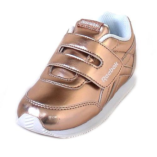 Reebok Scarpe Sneakers ROYAL CLASSIC JOGGER 2.0 KC Bambini Ragazzi Oro CN1330-OR zm8K8lY2HB