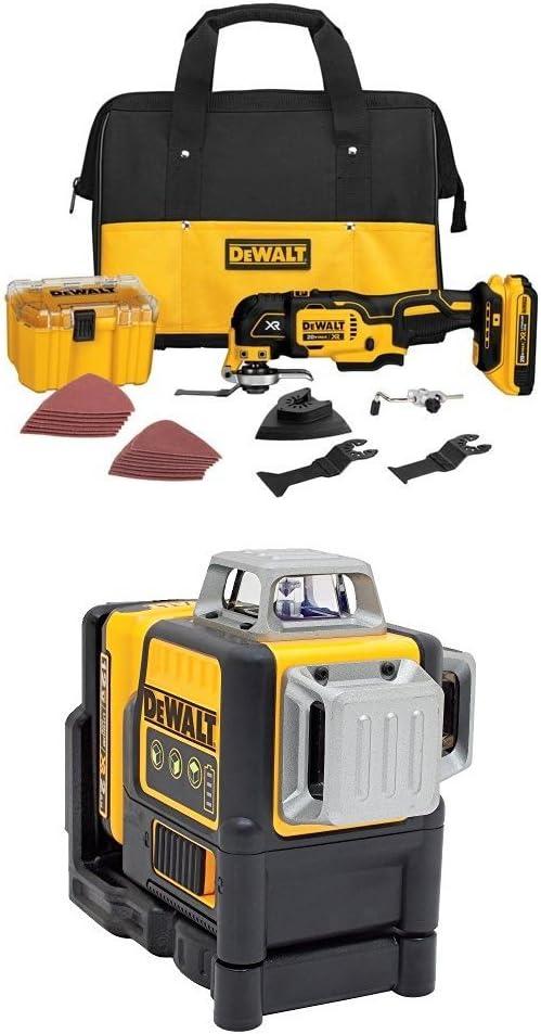 DEWALT DCS355D1 20V XR Lithium-Ion Oscillating Multi-Tool Kit