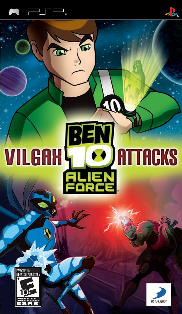 Buy Ben 10 Alien Force Vilgax Attacks PSP Online at Low Prices