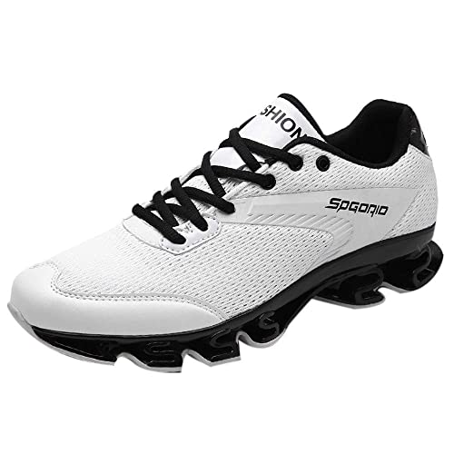 2018 Hombre Botines Lace Up Moda Invierno otoño Zapatillas Botas Martin Zapatos para Correr Aire Libre Deportes Running Respirable Low Sneakers Btruely ...