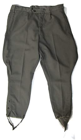 Amazon.com  East German Military Breeches - Grey - Authentic ... d8727f2cb