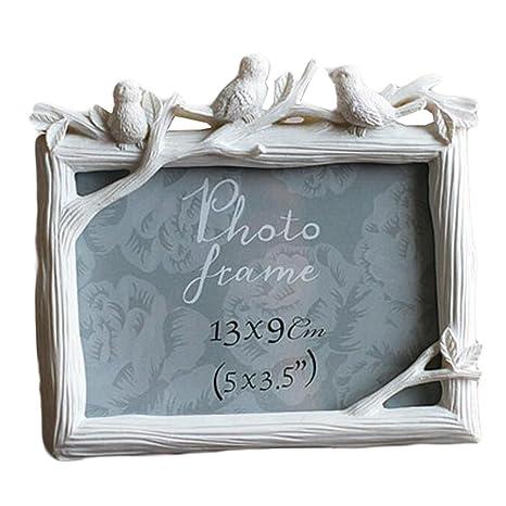 Marco de resina Marcos / creativo foto / álbum / Nursery Portarretratos -White
