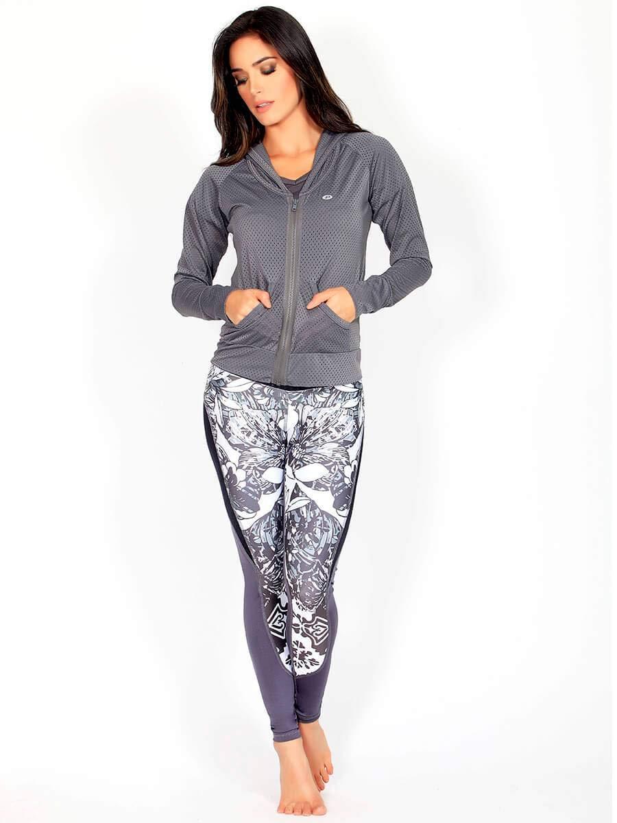5a93a2246a7d Protokolo Mid-rise Waist Gym Leggings for Women: Amazon.ae: Gulfissimo