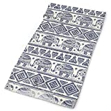 Magic Headwear for Men and Women Ethnic Elephant Tube Scarf Facemask Headbands Neck Gaiter Bandana for Running, Hiking, Motorcycle, Yoga