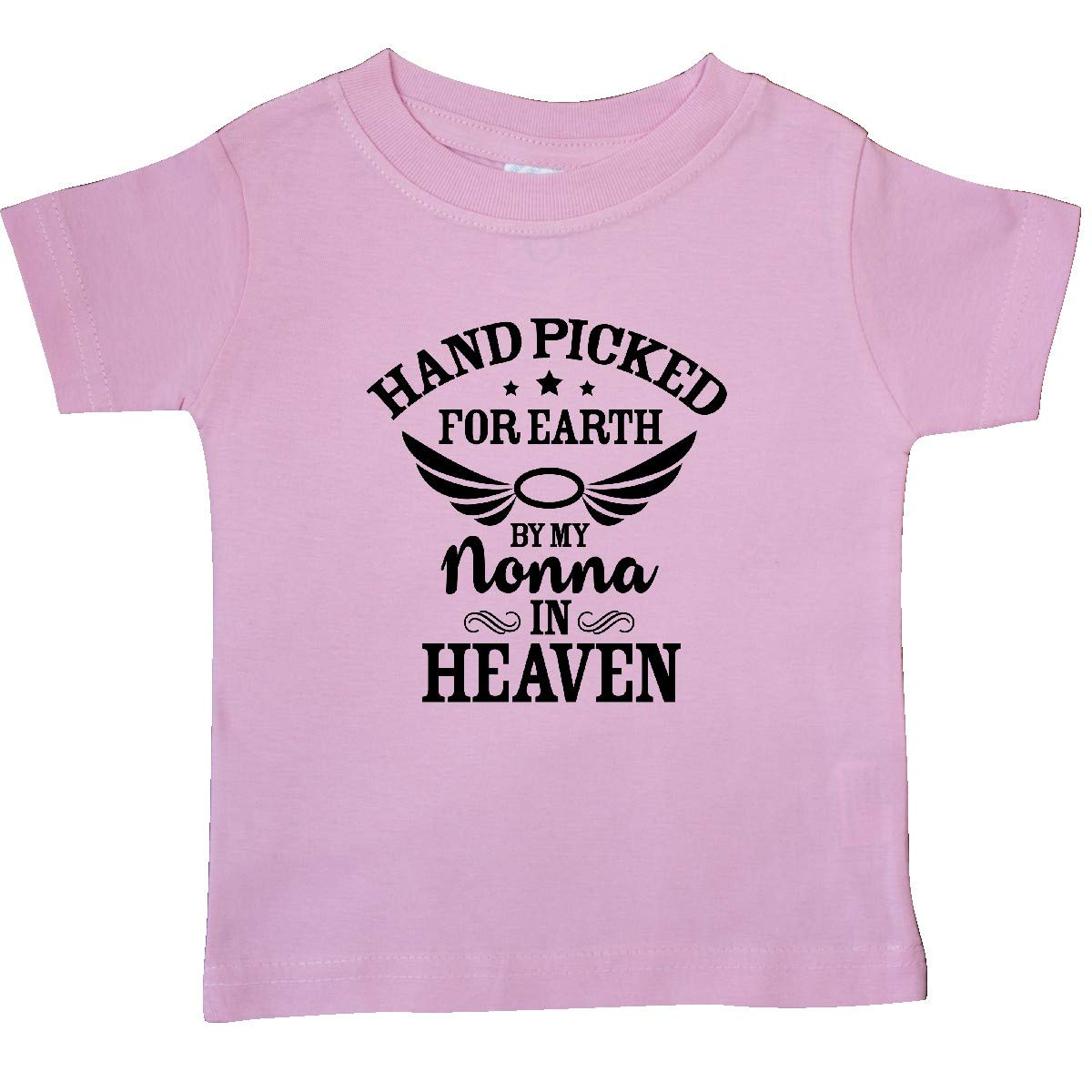 inktastic Handpicked for Earth by My Nonna in Heaven Baby T-Shirt