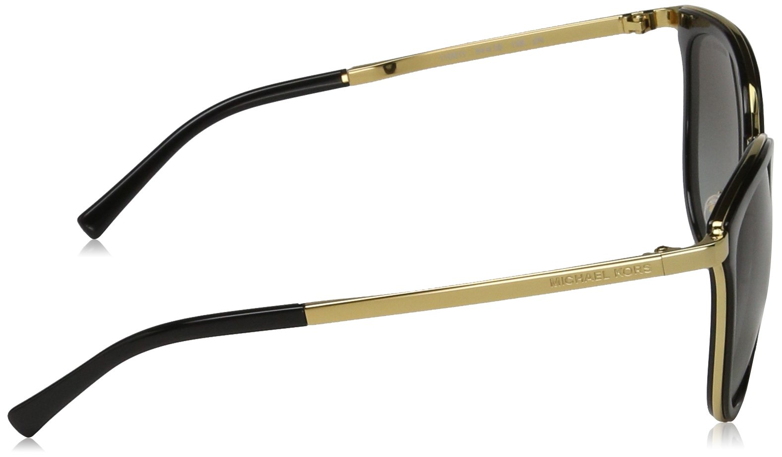 Michael Kors Women's Adrianna I MK1010 Black/Gold Sunglasses by Michael Kors (Image #3)