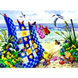 quilt puzzle - SunsOut 62956 500 Piece Seaside Summer Jigsaw Puzzle