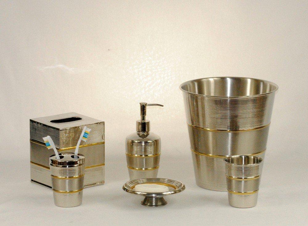 3SCompany Contempo Bath Accessories Set of 6
