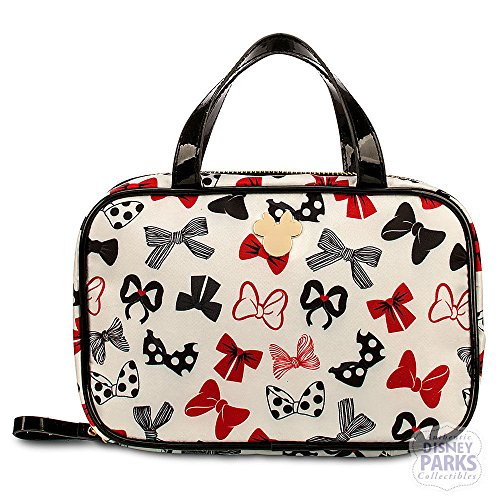 Disney Minnie Mouse Bow Cosmetic Bag Purse - Toiletry Bag