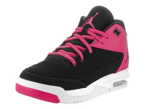 NIKE Air Jordan 40 NUOVO Flight Fly Donna Bambini Scarpe nere rosa black