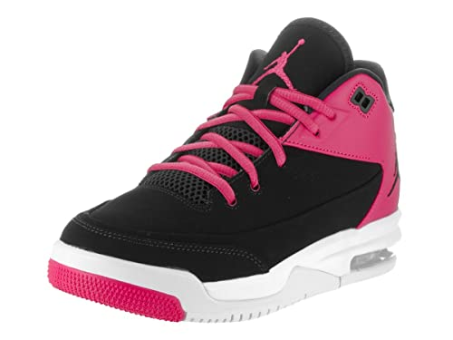 the latest d501d 52b0b Nike Jordan Flight Origin 3 GG, Zapatillas de Baloncesto para Niñas, Negro  Black-Vivid Pink-White, 37.5 EU  Amazon.es  Zapatos y complementos