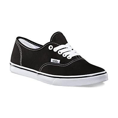5b19770a97a Vans Unisex Authentic Lo Pro Skate Shoes 10 Men 11.5 Women Black True White