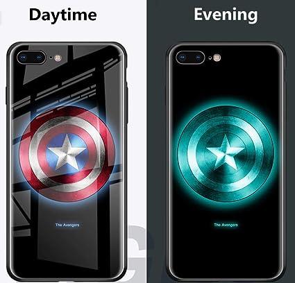 Amazon com: Spark Captain America Phone case Glow in The