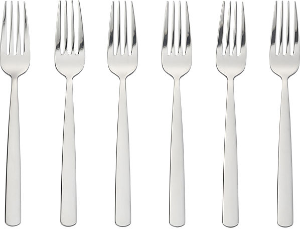 set of 6 party forks | CB2