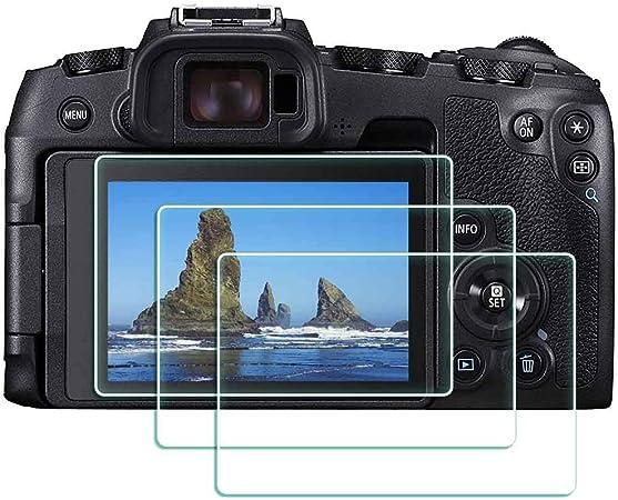 3x protector de pantalla para Canon EOS RP Vidrio Templado Film De Protección